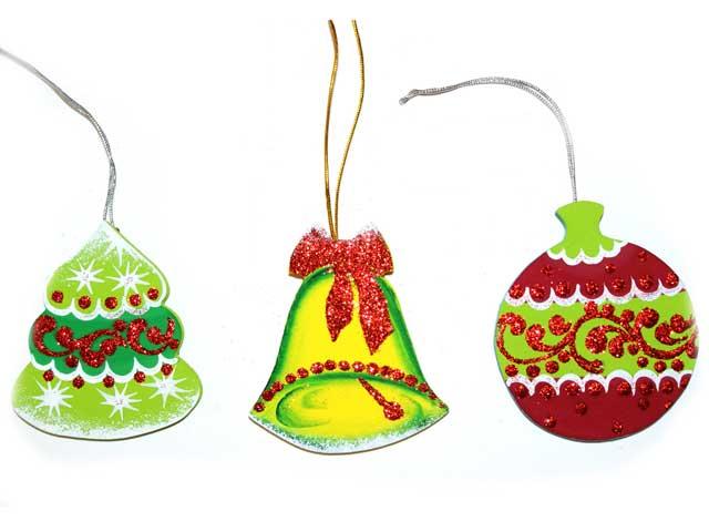 Рисунок новогодней игрушки своими руками